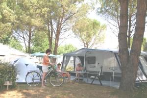 emplacement tente caravane