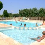Piscine familliale Camping de Vaudois